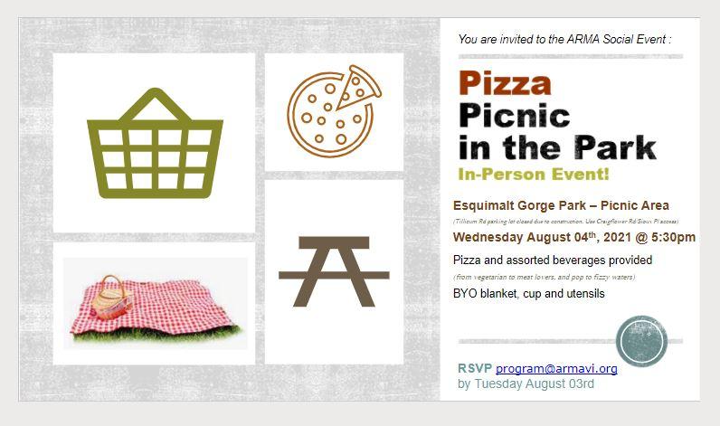 Invitation to Pizza Picnic
